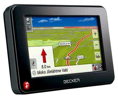 GPS-навигаторы - Becker TRAFFIC ASSIST Z 098